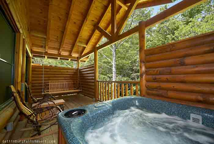 picture of A Creekside Cottage cabin