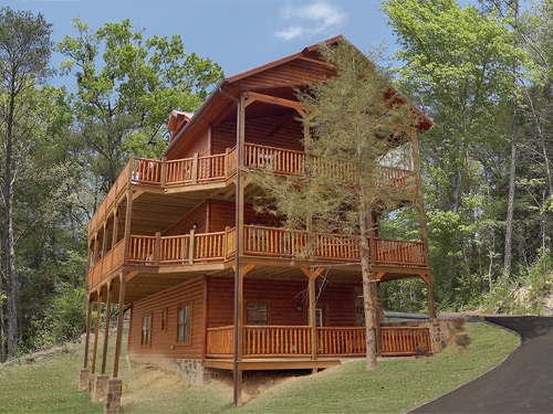 Pigeon Forge Cabin Diamond In The Rough 5 Bedroom Sleeps 14