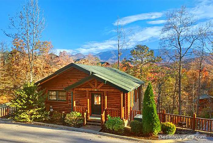 Gatlinburg Cabin Pointe Of View 2 Bedroom Sleeps 8
