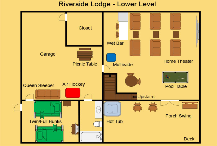 picture of Riverside Lodge cabin
