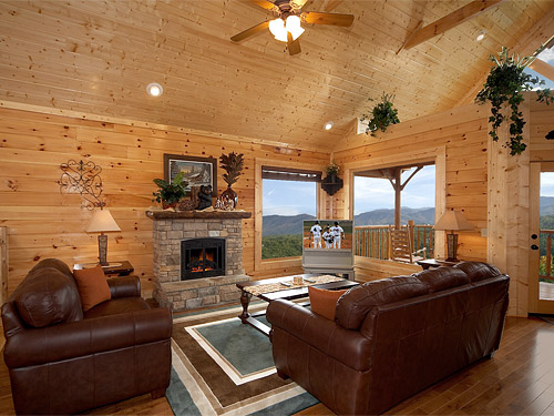 Pigeon Forge Cabin Above The Tree Tops 1 Bedroom