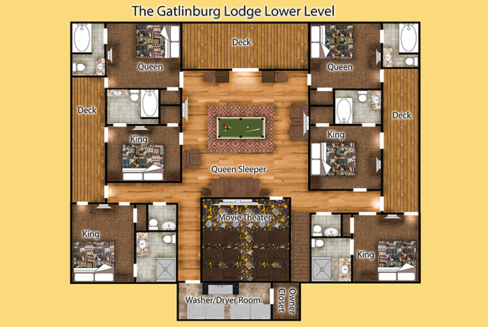 picture of The Gatlinburg Lodge cabin