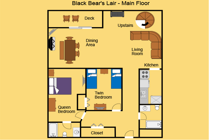 picture of Black Bear's Lair cabin