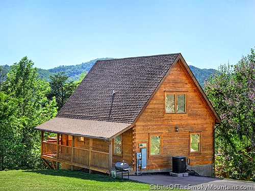 Pigeon forge cabin appalachian dream 4 bedroom for Appalachian mountain cabins