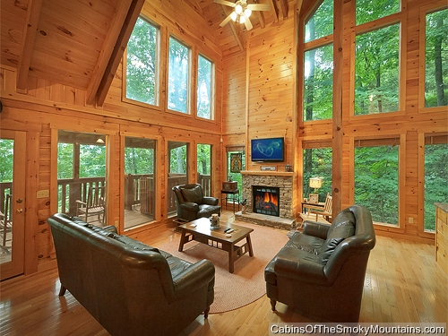 Pigeon Forge Cabin Mountain Blessing 4 Bedroom Sleeps 13