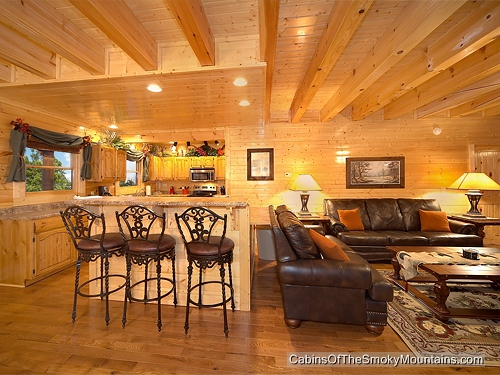 pigeon forge cabin greenbriar grace 5 bedroom sleeps 14