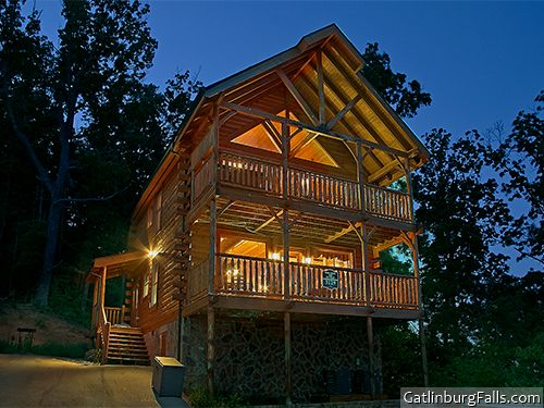 Pigeon Forge Cabin Mountain Top Retreat 1 Bedroom Sleeps 9