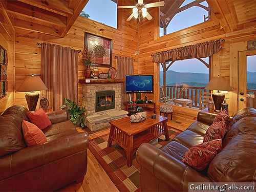 Pigeon Forge Cabin Mountain Top Retreat 1 Bedroom