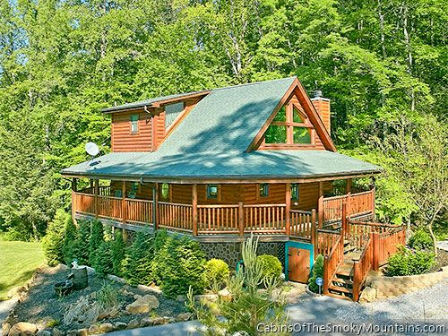 Pigeon Forge Cabin Shady Creek Retreat 1 Bedroom