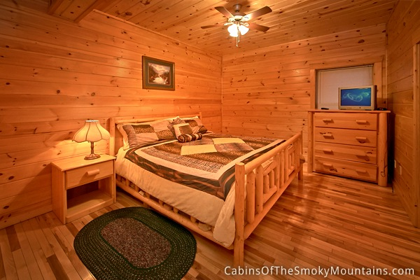 Pigeon forge cabin over the top 7 bedroom sleeps 22 - 7 bedroom cabins in pigeon forge ...