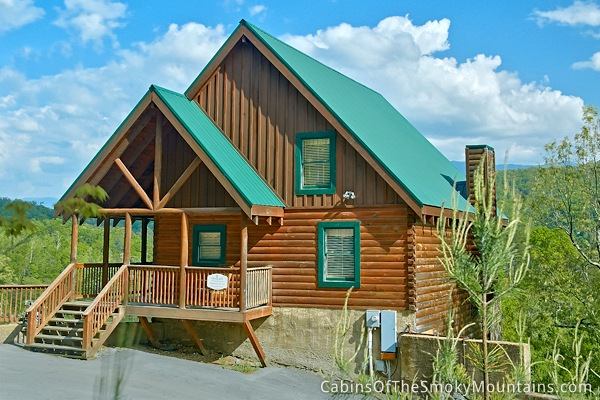 Pigeon forge cabin lap of luxury 6 bedroom sleeps 20 for Luxury pet friendly cabins pigeon forge