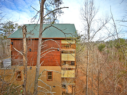 Pigeon Forge Cabin Majestic Forest 3 Bedroom Sleeps 11