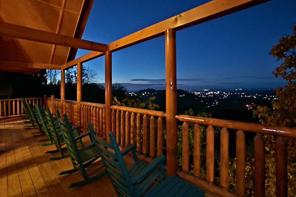 picture of Views of City Lights cabin