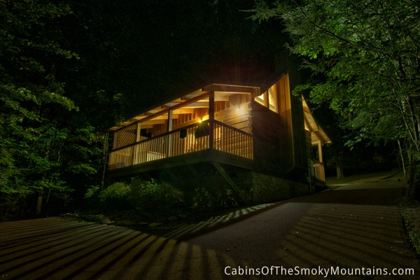 Pigeon forge cabin seclusion cabin 1 bedroom sleeps 2 - 1 bedroom cabins in pigeon forge under 100 ...