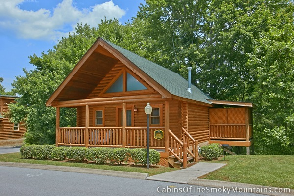 Pigeon Forge Cabin Smoky Mountain Retreat 1 Bedroom