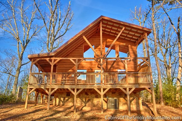 Pigeon forge cabin heaven 39 s perch 1 bedroom sleeps 6 - 1 bedroom cabins in pigeon forge under 100 ...