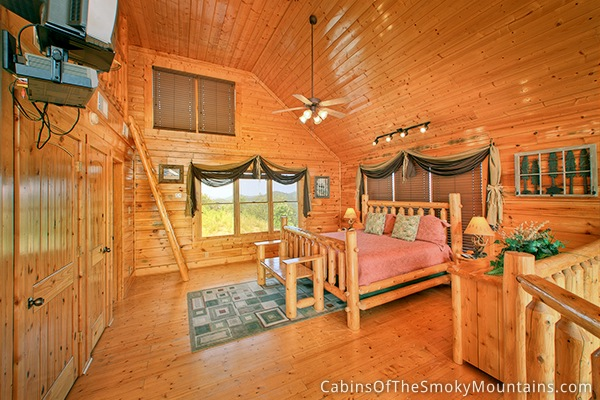 pigeon forge cabin happy place 1 bedroom sleeps 8 jacuzzi