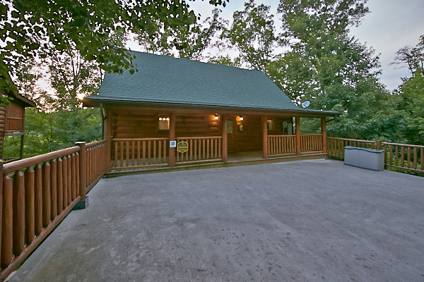 Pigeon forge cabin dogwood 1 bedroom sleeps 6 - 1 bedroom cabins in pigeon forge under 100 ...