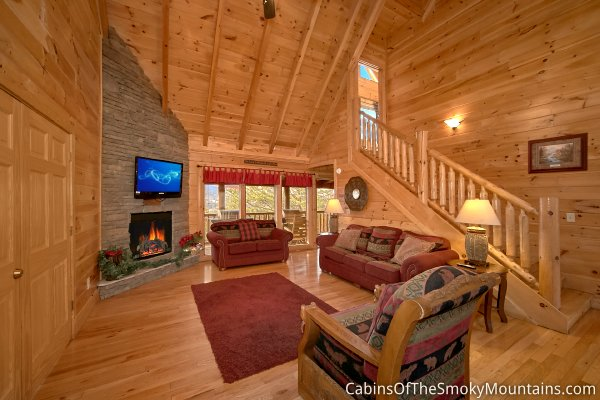 pigeon forge cabin view master lodge 8 bedroom sleeps 24