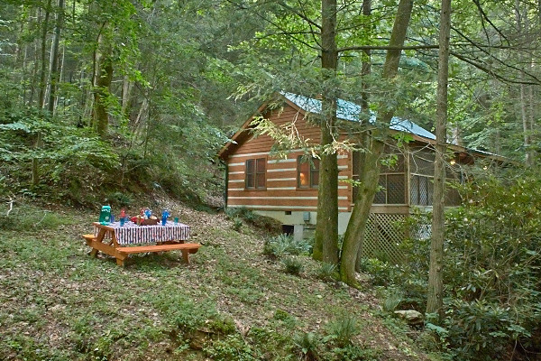 picture of Creekside Comfort cabin