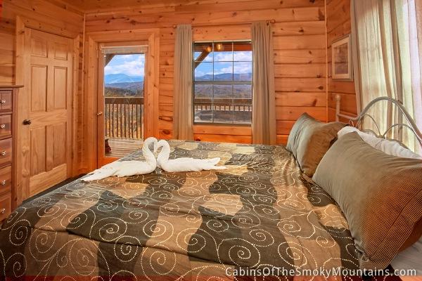 Pigeon Forge Cabin Amazing View Manor 7 Bedroom Sleeps 20