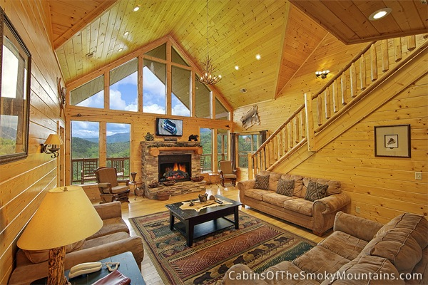 pigeon forge cabin mountain theater lodge 6 bedroom sleeps 24