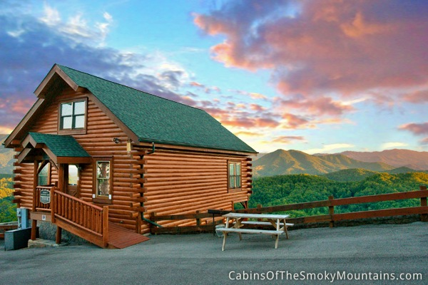 Pigeon Forge Cabin Smoky 39 S Awesome View 1 Bedroom Sleeps 10