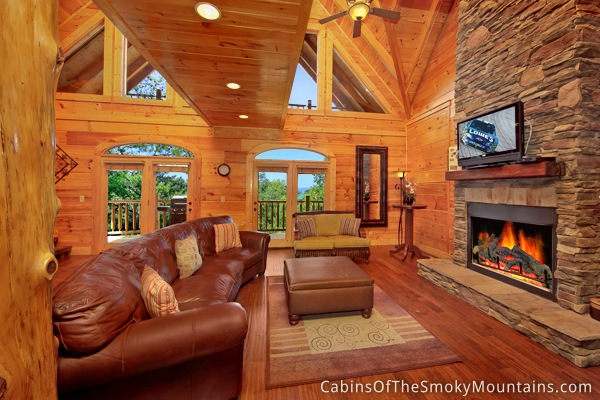 Pigeon forge cabin memory maker lodge 7 bedroom - 7 bedroom cabins in pigeon forge ...