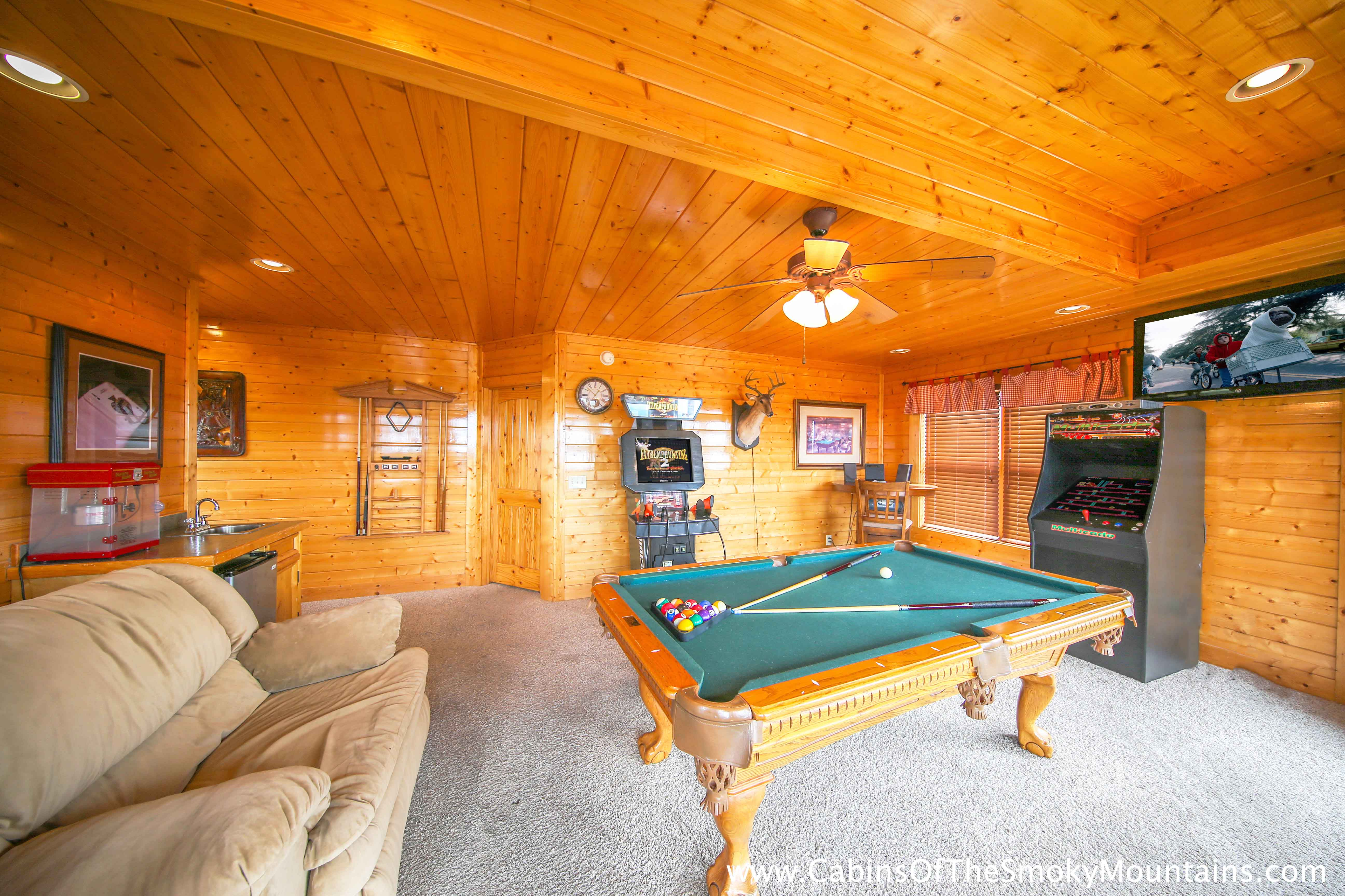 pigeon forge cabin counting stars 2 bedroom sleeps 8