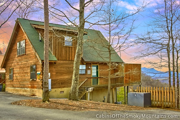 Pigeon forge cabin rentals 1 br luxury cabins - 1 bedroom cabins in pigeon forge under 100 ...