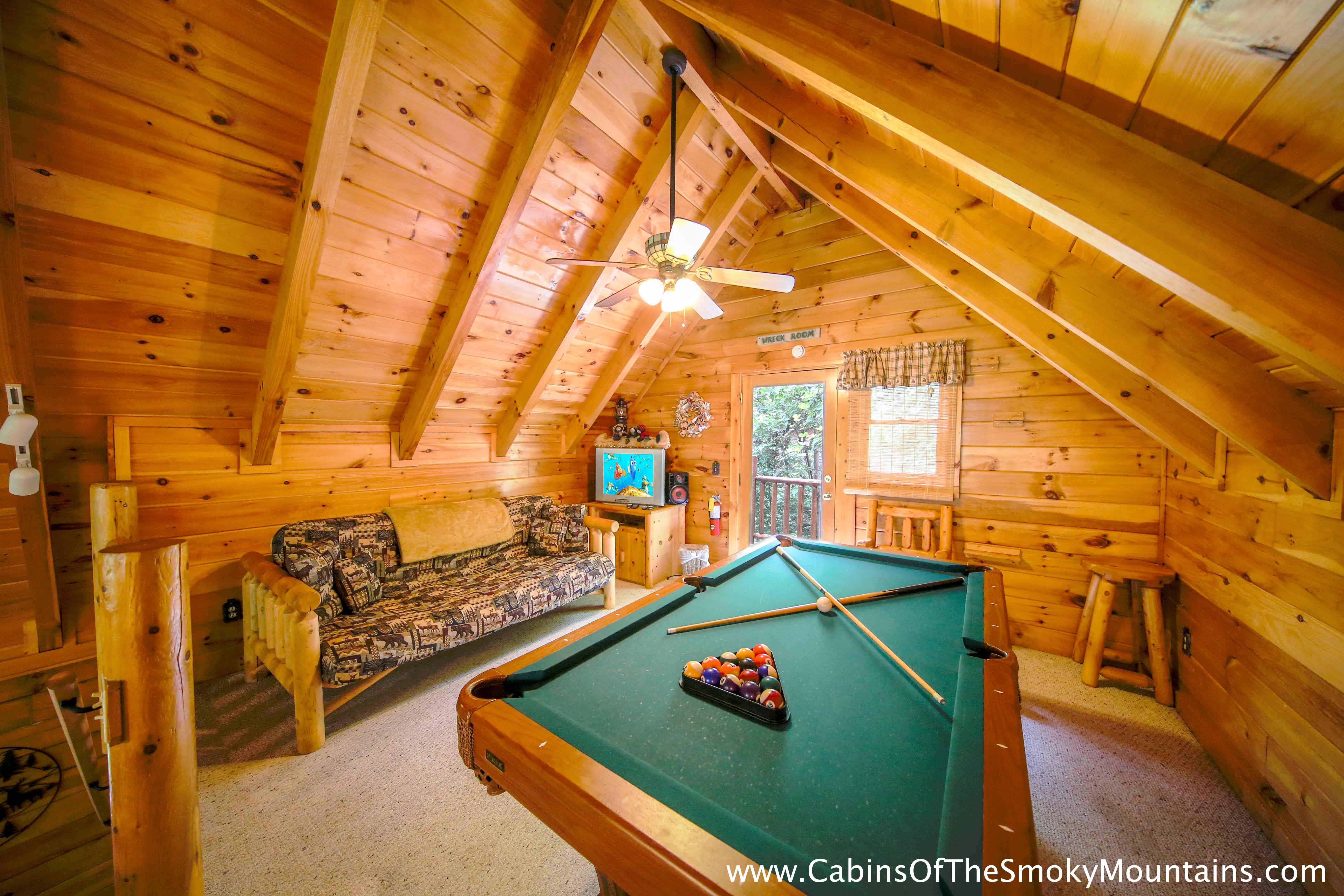 Gatlinburg One Bedroom Cabin With Indoor Pool Home Design