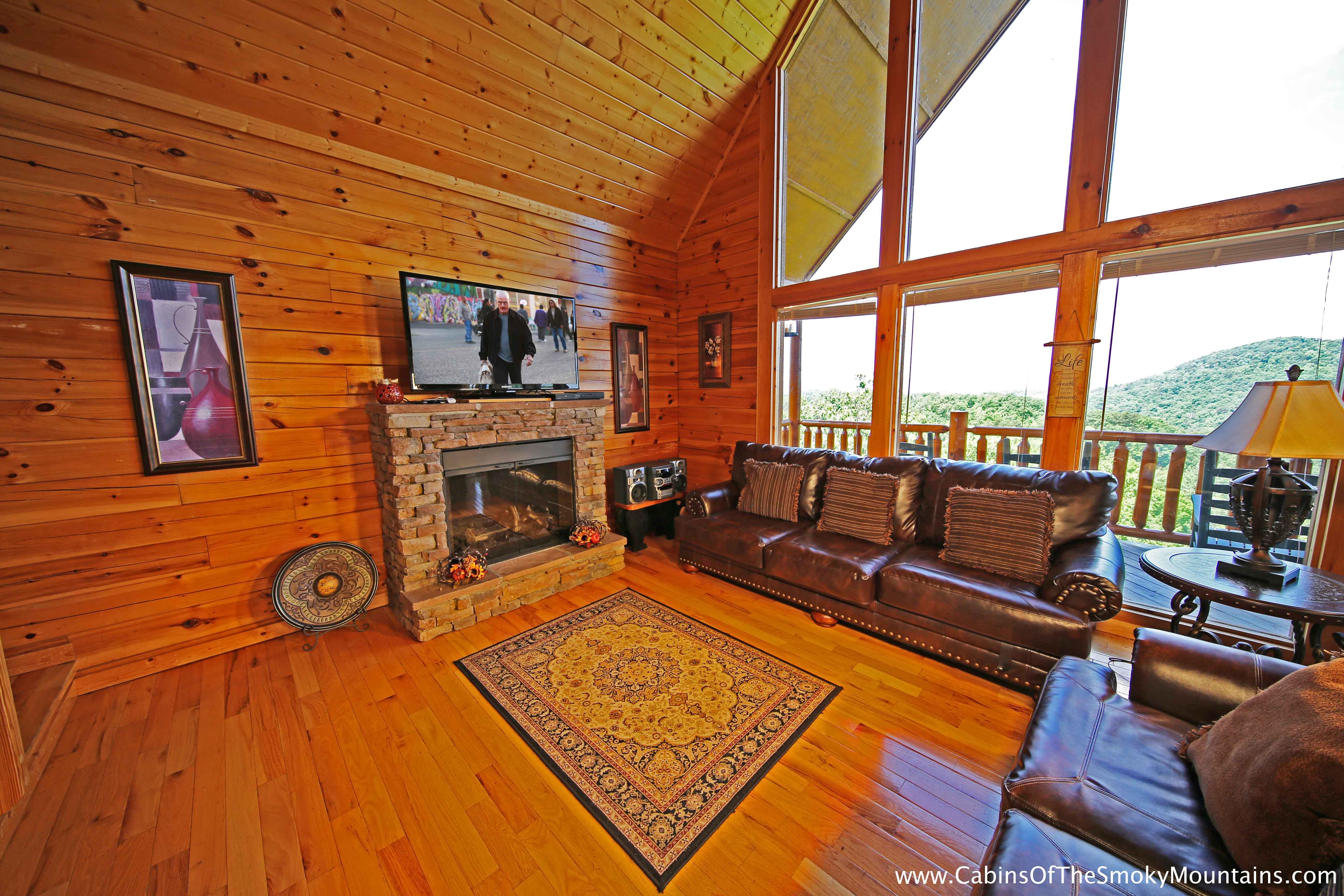 pigeon forge cabin above heaven 4 bedroom sleeps 10