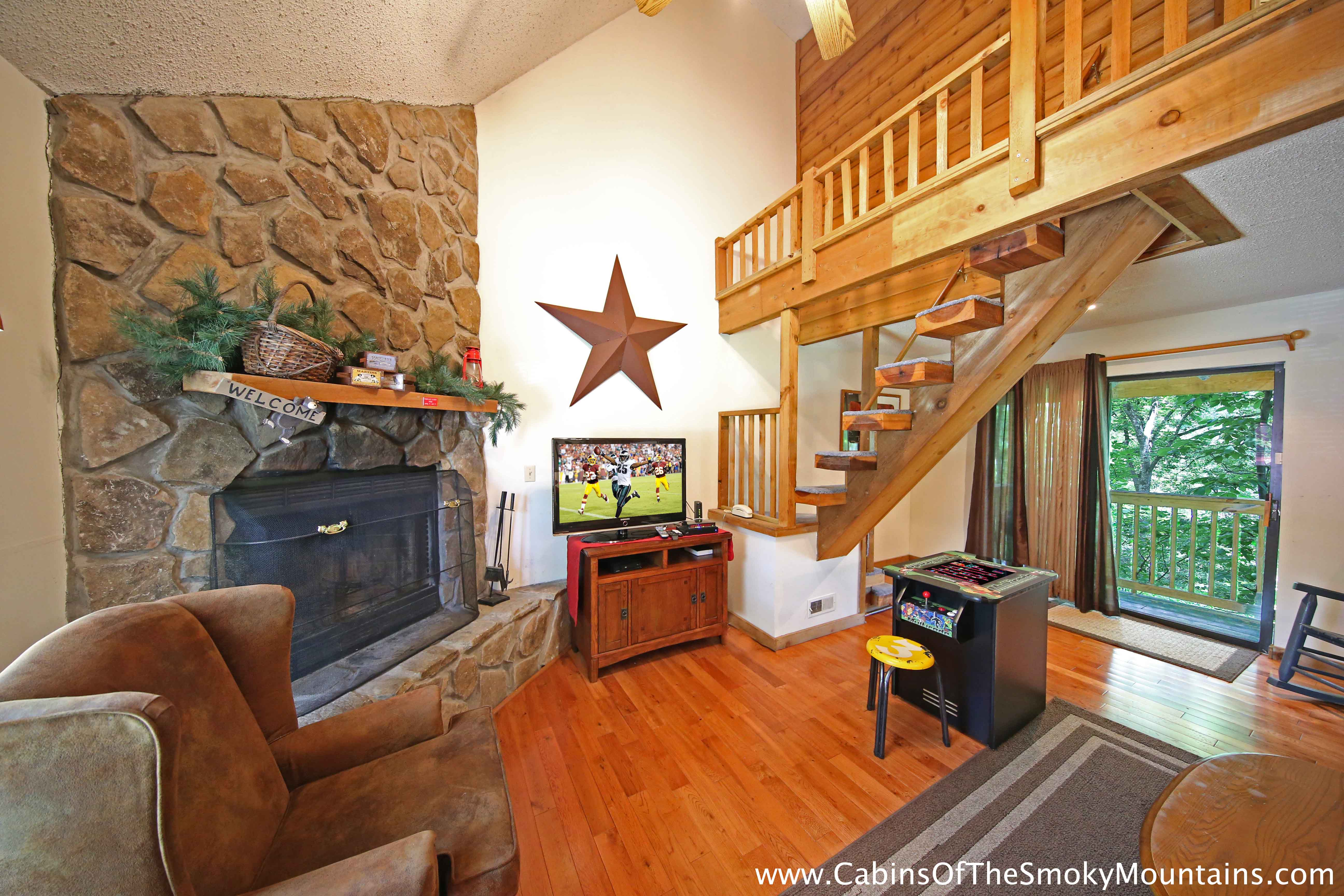 Pigeon Forge Cabin Moonshine Kisses 1 Bedroom Sleeps 2