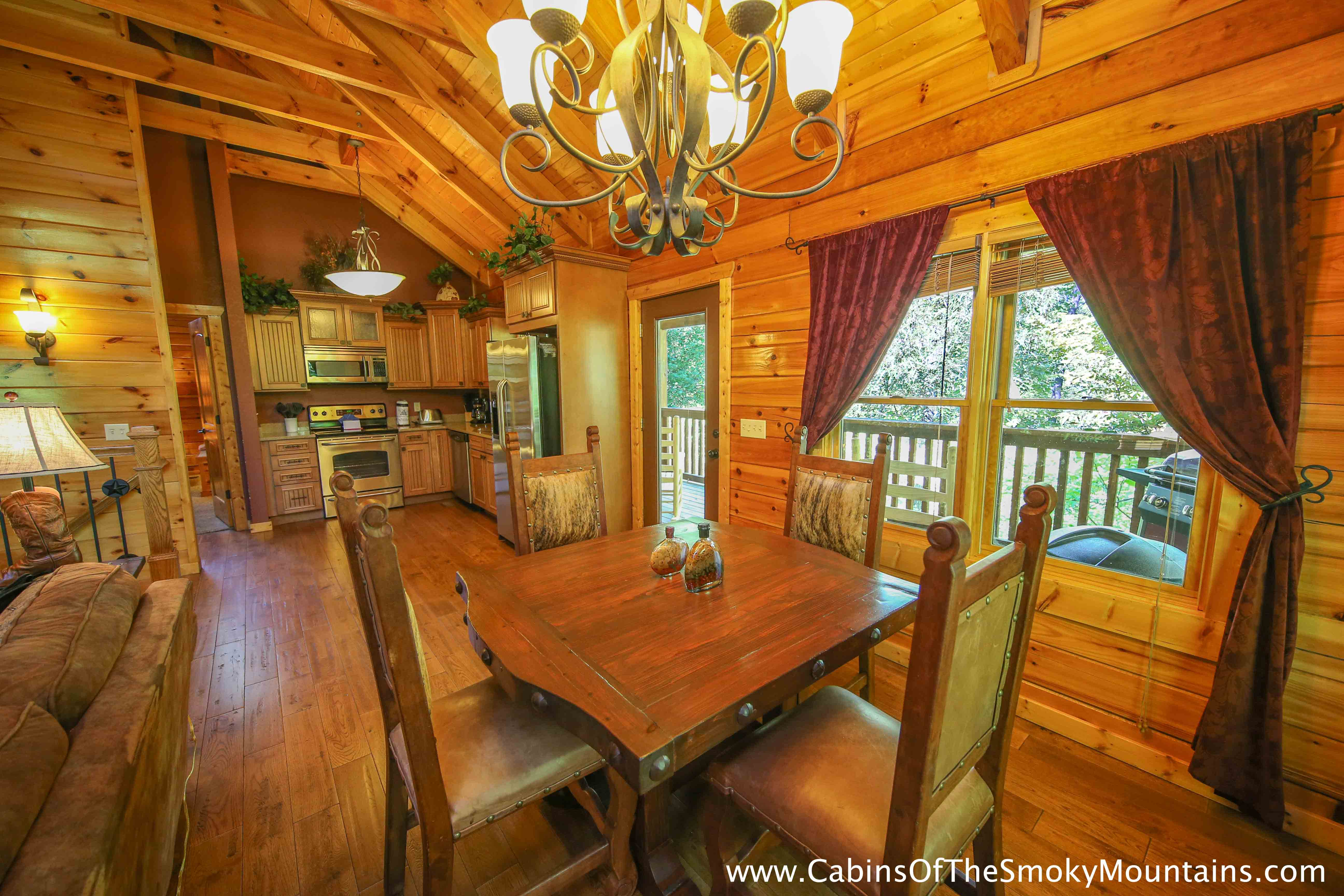Pigeon forge cabin wild wild west 2 bedroom sleeps 6 for 2 bedroom hotels in pigeon forge