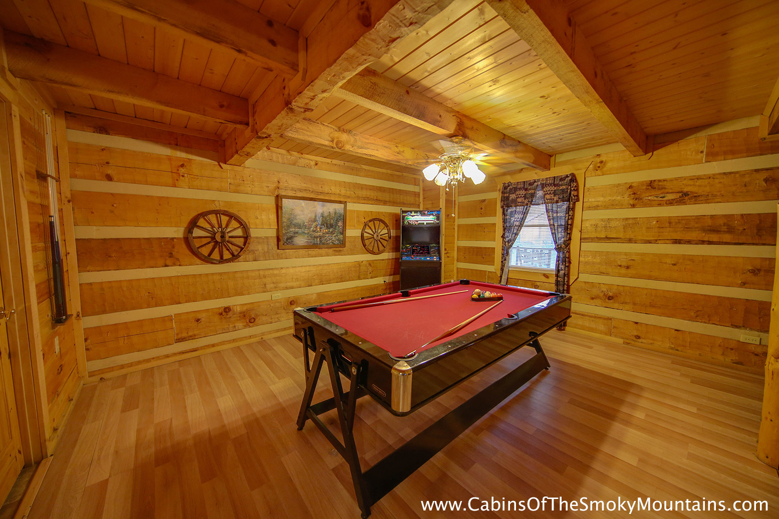 Pigeon Forge Cabin Smoky Mountain Hideaway 1 Bedroom Sleeps 4
