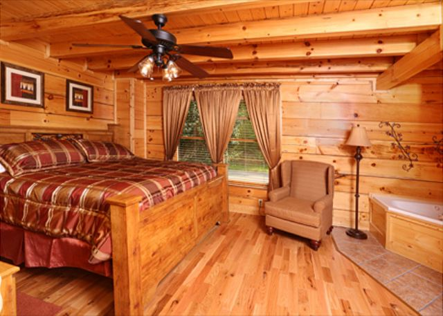 Pigeon forge cabin smoky mountain escape 2 bedroom for 8 bedroom cabins in gatlinburg