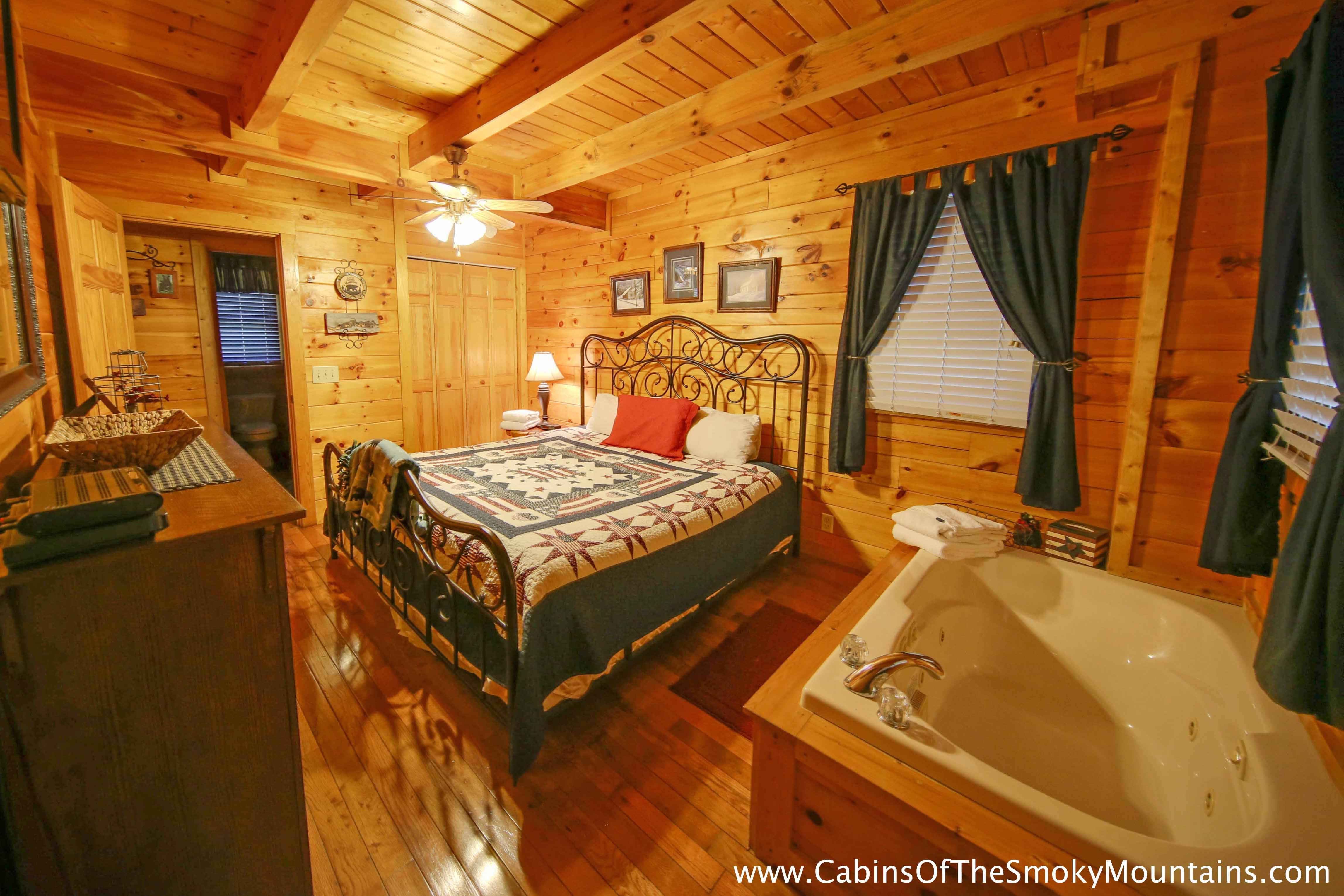 Pigeon Forge Cabin Jean 39 S Dream 2 Bedroom Sleeps 4