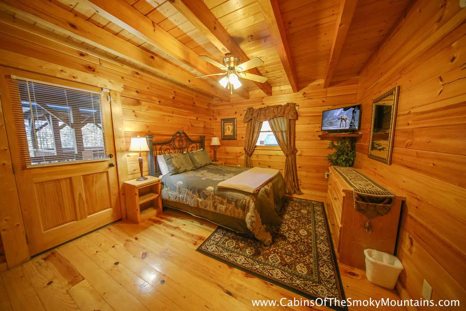 pigeon forge cabin amber twilight 3 bedroom sleeps 8