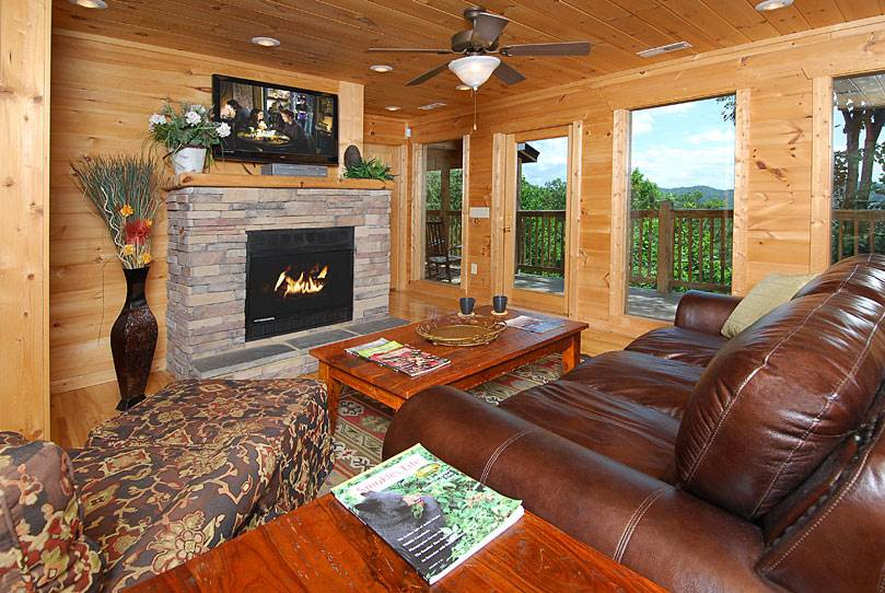 Pigeon forge cabin gatlinburg sunrise 4 bedroom for 8 bedroom cabins in gatlinburg