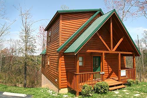 Pigeon forge cabin moonlight ridge 1 bedroom sleeps 4 - 1 bedroom cabin rentals gatlinburg tn ...