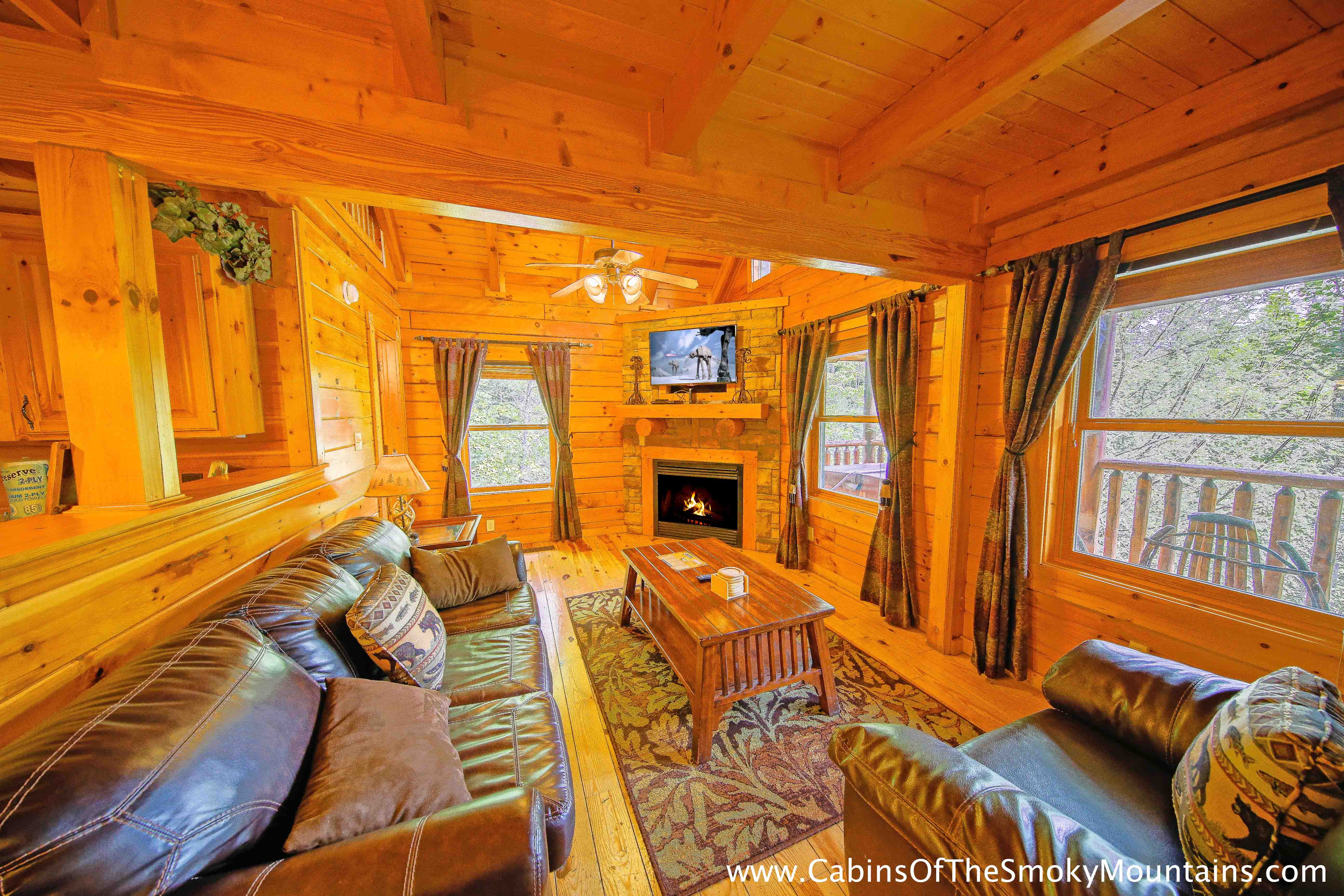 gatlinburg cabin the grandview 3 bedroom sleeps 12