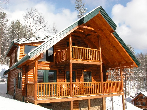Gatlinburg cabin high expectations 1 bedroom sleeps for Smoky mountain cabin rental with private pool