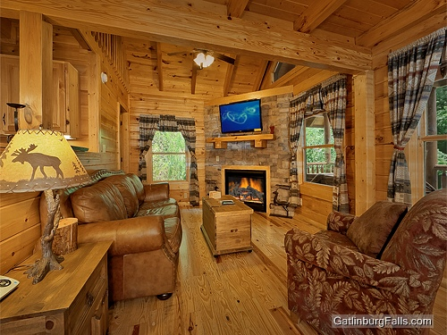 gatlinburg cabin stone 39 s throw 1 bedroom sleeps 6