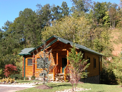 Gatlinburg cabin after the kiss 1 bedroom sleeps 6 for Endless joy cabin gatlinburg