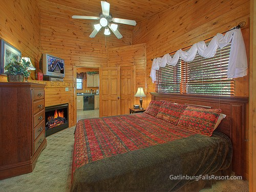 gatlinburg cabin after the kiss 1 bedroom sleeps 6