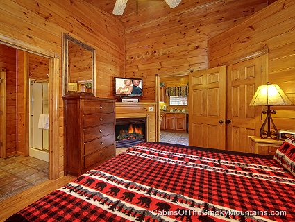 gatlinburg cabin antlers ridge 1 bedroom sleeps 6