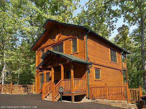 gatlinburg cabin high ground 3 bedroom sleeps 12