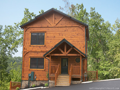 Gatlinburg Cabin Moose Tracks 4 Bedroom Sleeps 16