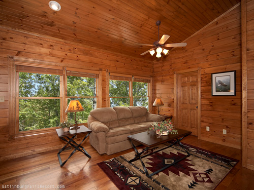 Gatlinburg cabin amazing views 2 bedroom sleeps 10 - Bedroom cabins in gatlinburg ...