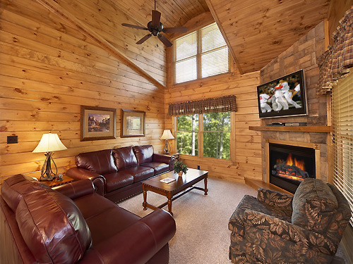pigeon forge cabin mountain treasure 2 bedroom sleeps 8